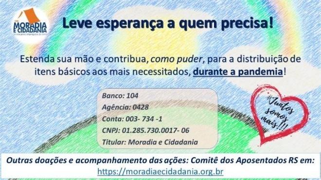 ONG Moradia e Cidadania/Divulgação