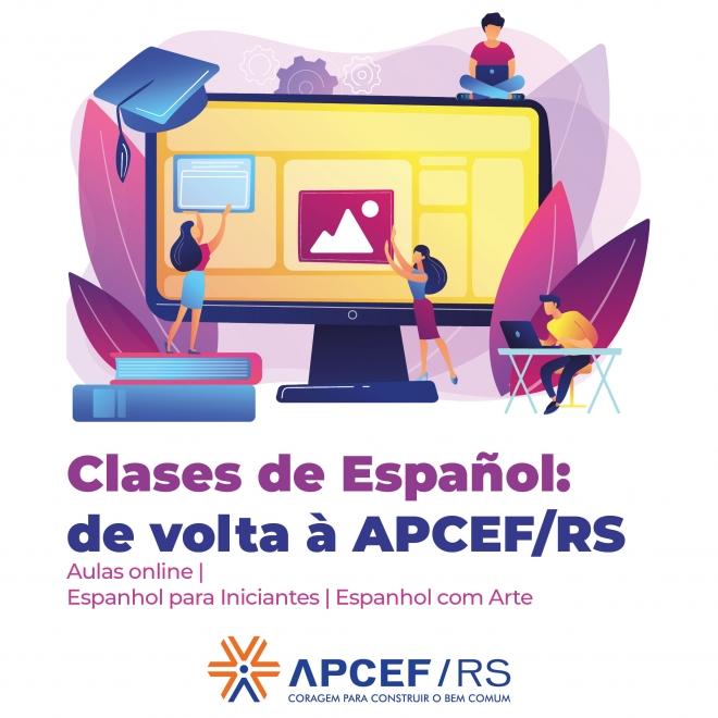 Clases de Español - APCEF/RS