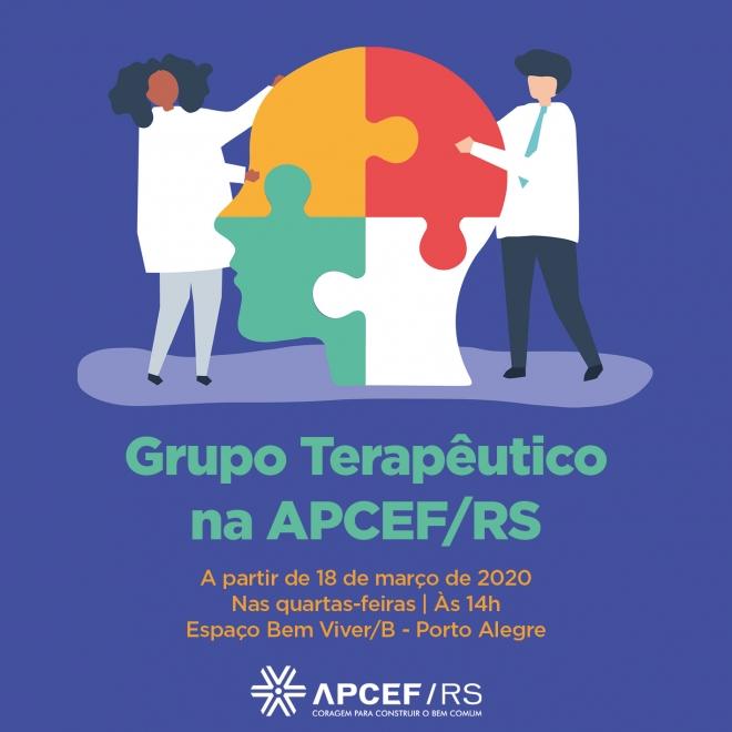 Grupo terapêutico na APCEF