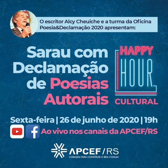 Happy Hour Cultural da APCEF/RS